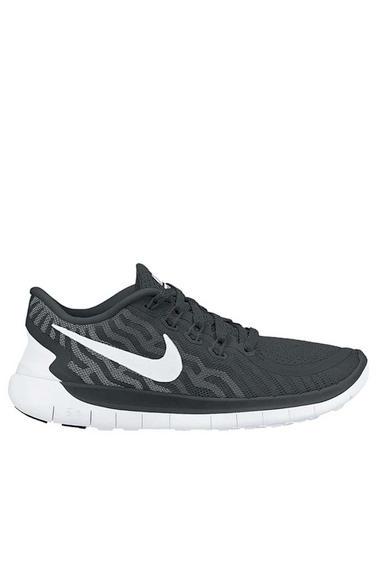 los angeles 4878d 5f581 Nike Free 5.0 BLACK/WHITE-DARK GREY-CL GREY (724382-002) MEN ...